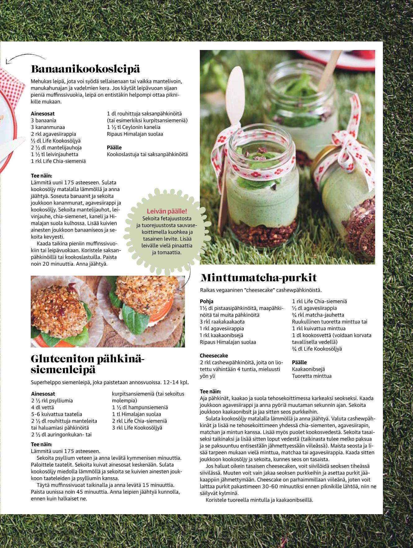 saksanpähkinä omega 3